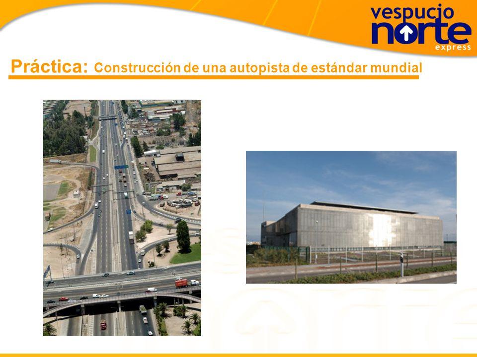 Práctica: Construcción de una autopista de estándar mundial
