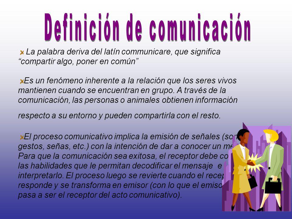 Es la manera de comunicarnos en un ambiente de cuidado de salud.