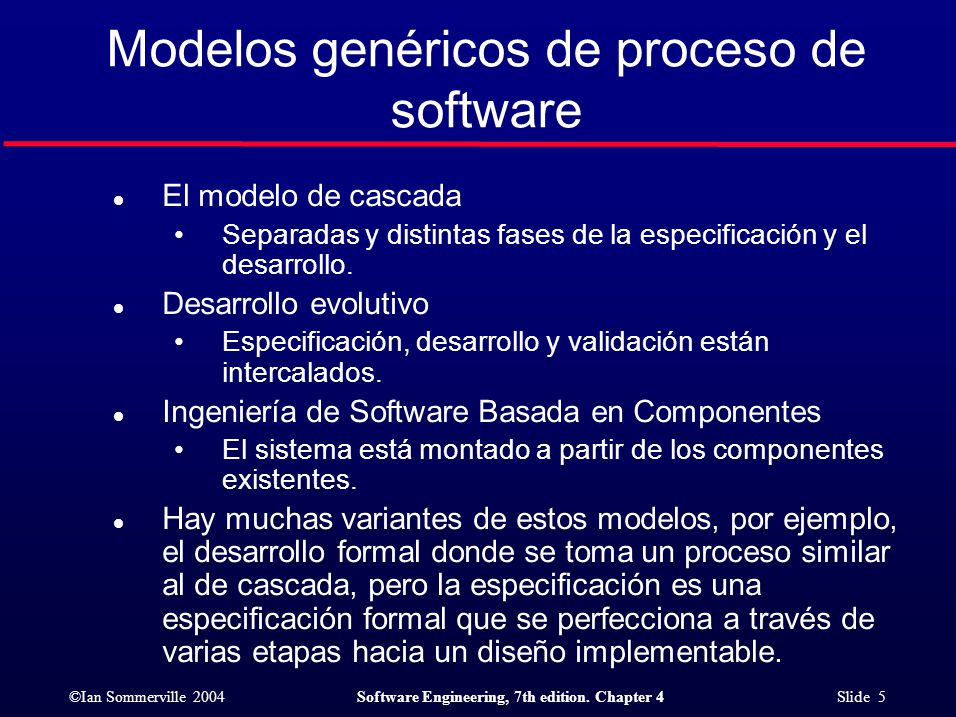©Ian Sommerville 2004Software Engineering, 7th edition. Chapter 4 Slide 16 Entrega Incremental