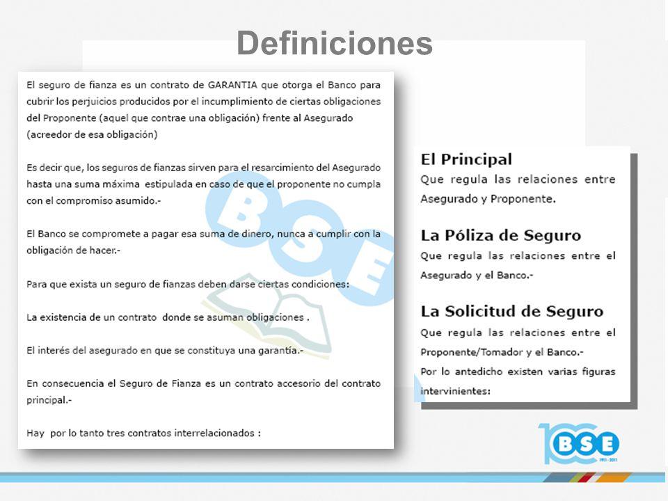 RELACIONES CONTRACTUALES SOLICITUD DE SEGURO POLIZA DE SEGURO CONTRATO PRINCIPAL