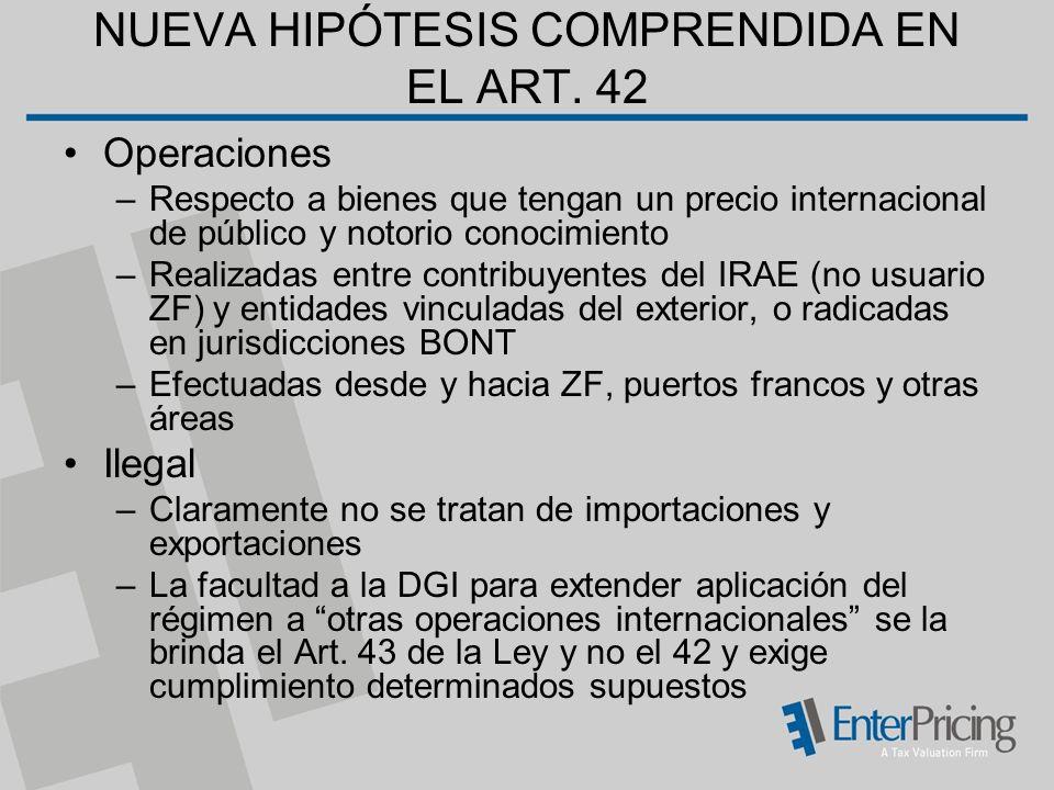 NUEVA HIPÓTESIS COMPRENDIDA EN EL ART.