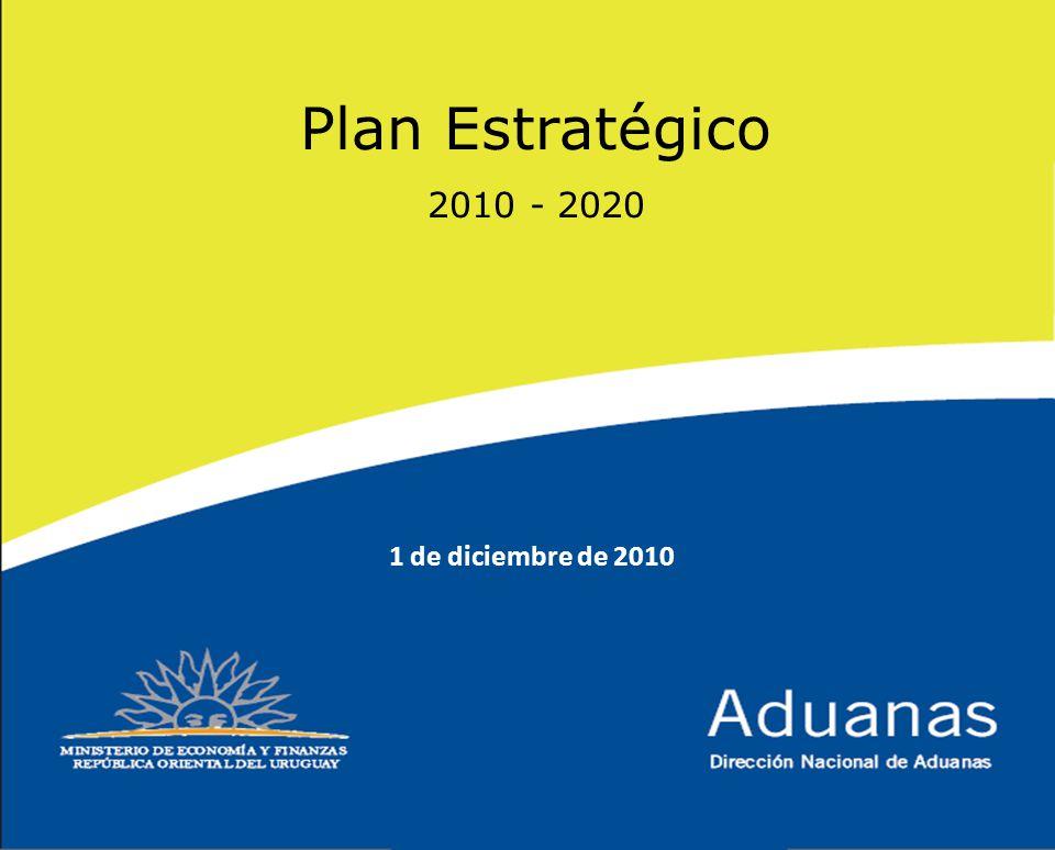Plan Estratégico 2010 - 2020 1 de diciembre de 2010