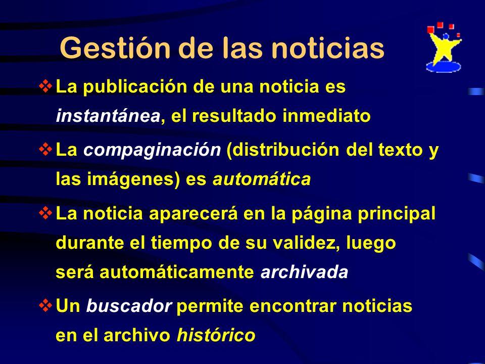 PUBLICAR REDACTAR REDACTORES ADMINISTRADOR de CATEGORÍA Gestión descentralizada VALIDAR PORTAL NOTICIAS