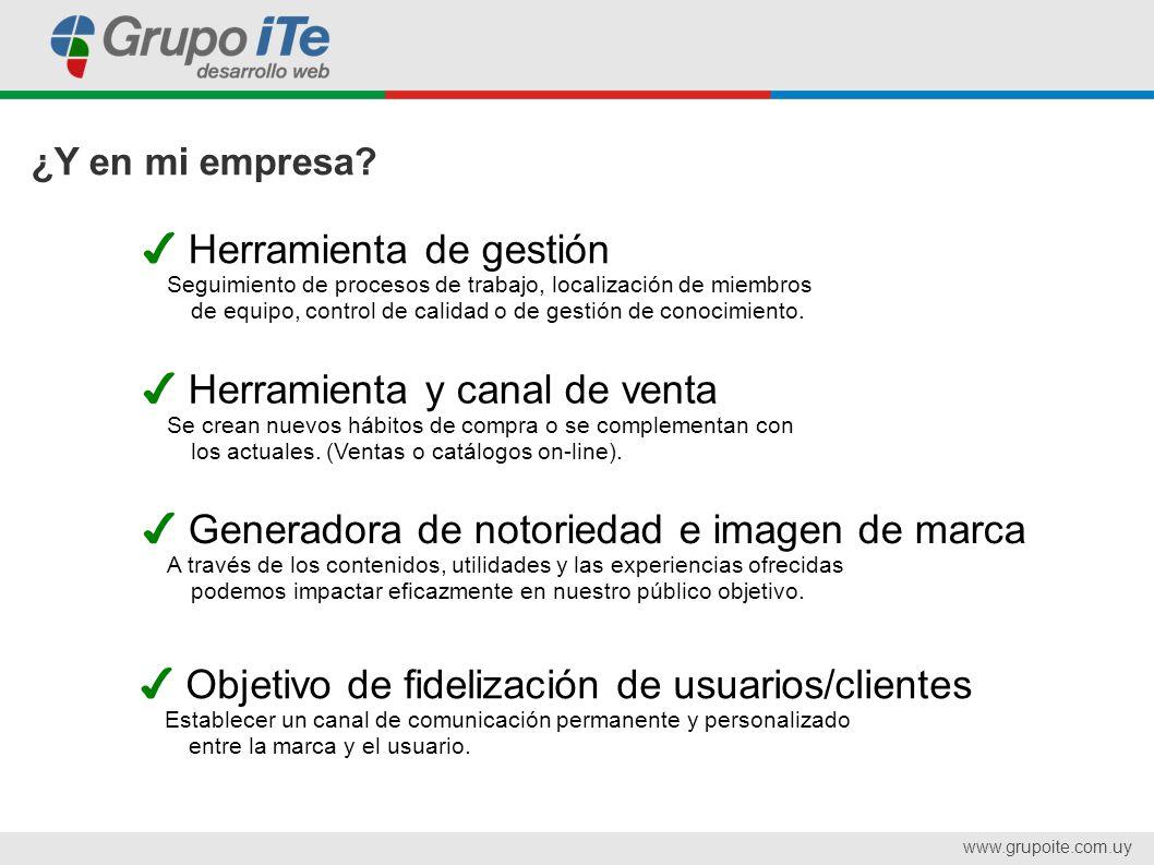 www.grupoite.com.uy Caso de éxito Pedidos Directos