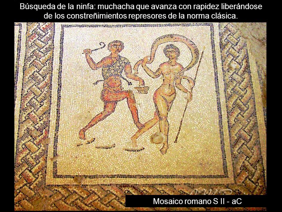 Mosaico romano S II - aC