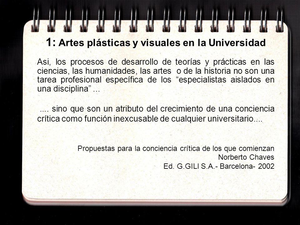 2: El Plan de Estudios del I.E.N.B.A.ART.