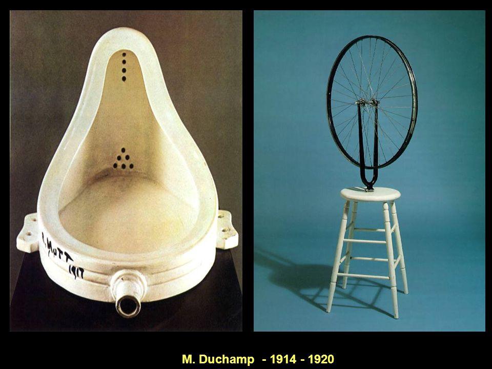 M. Duchamp - 1914 - 1920