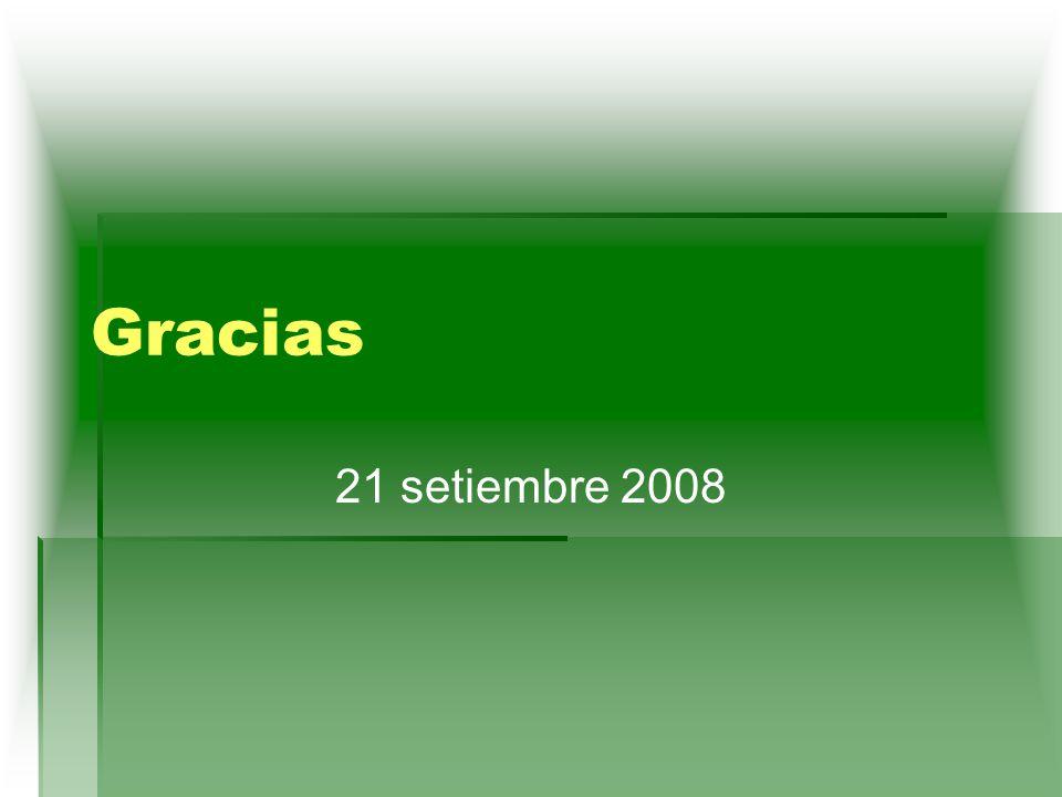 Gracias 21 setiembre 2008