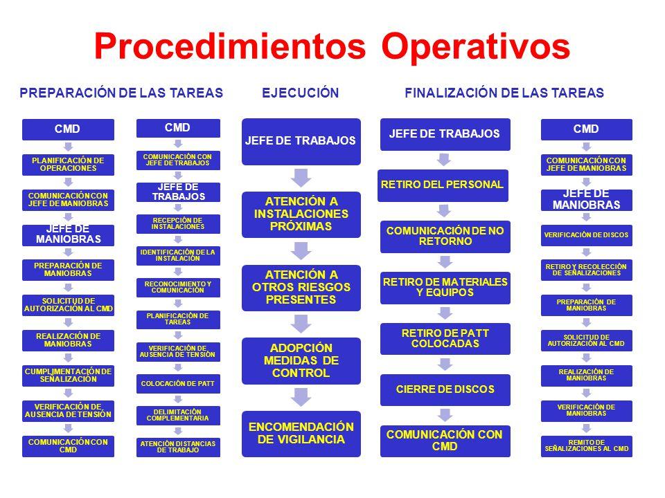 Panorama General de la NS1D PROCEDIMIENTOS OPERATIVOS