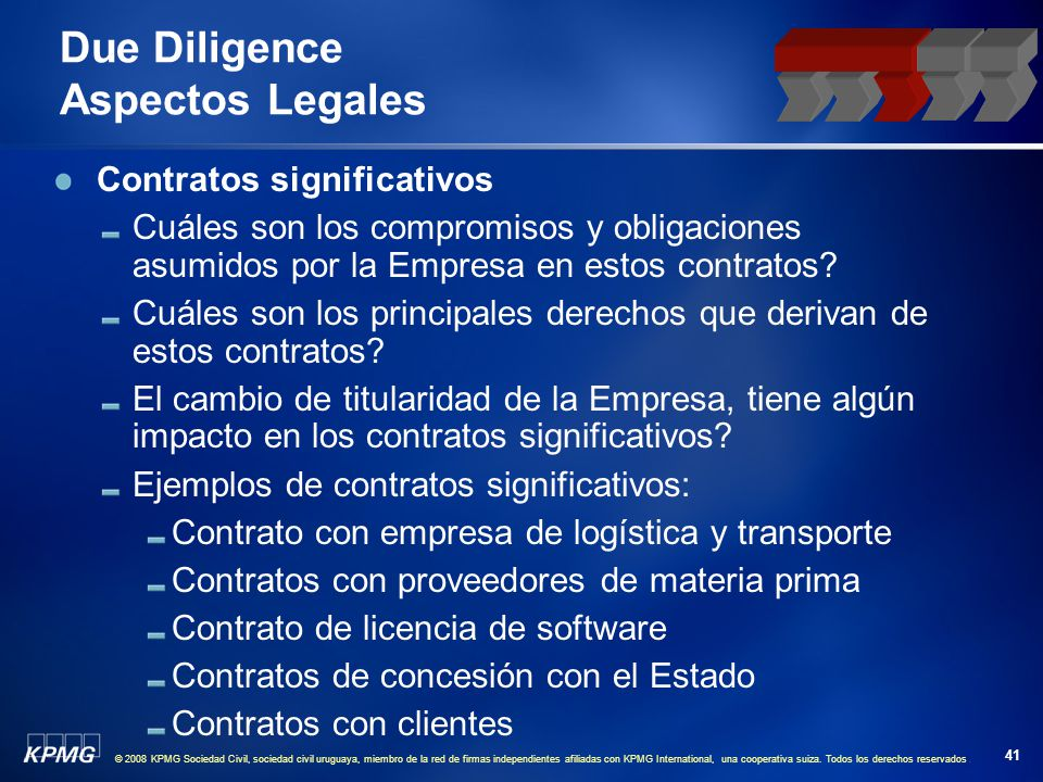 © 2008 KPMG Sociedad Civil, sociedad civil uruguaya, miembro de la red de firmas independientes afiliadas con KPMG International, una cooperativa suiz