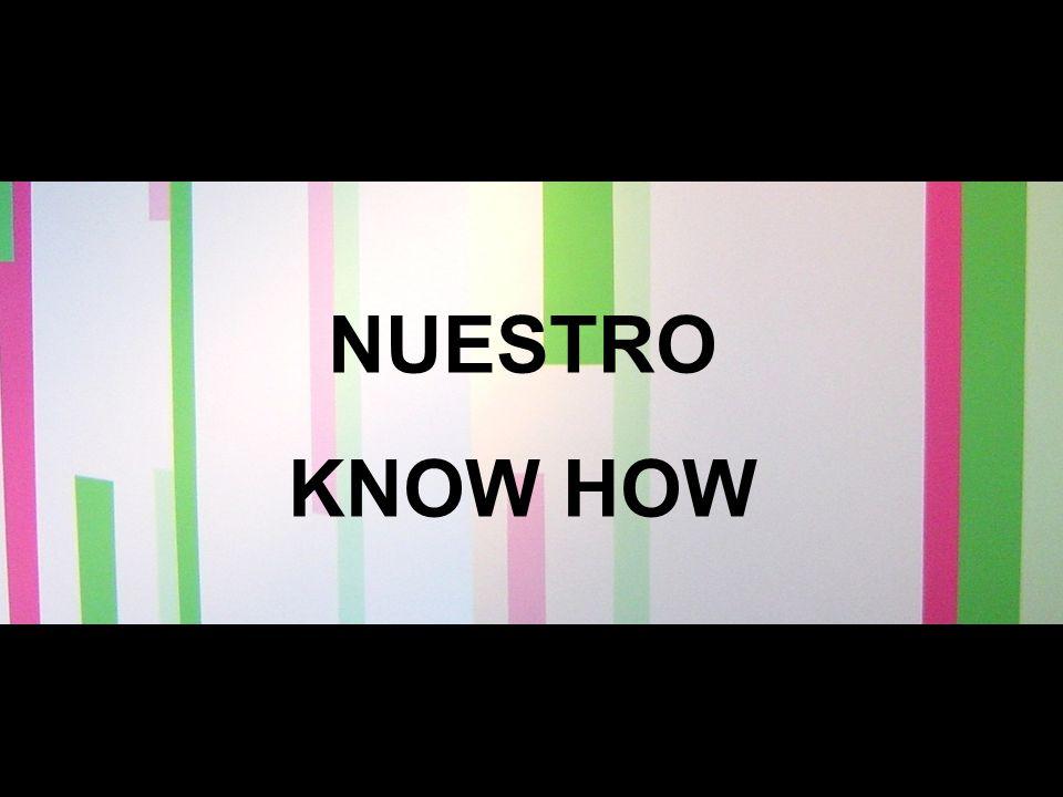 Nuestra Historia NUESTRO KNOW HOW