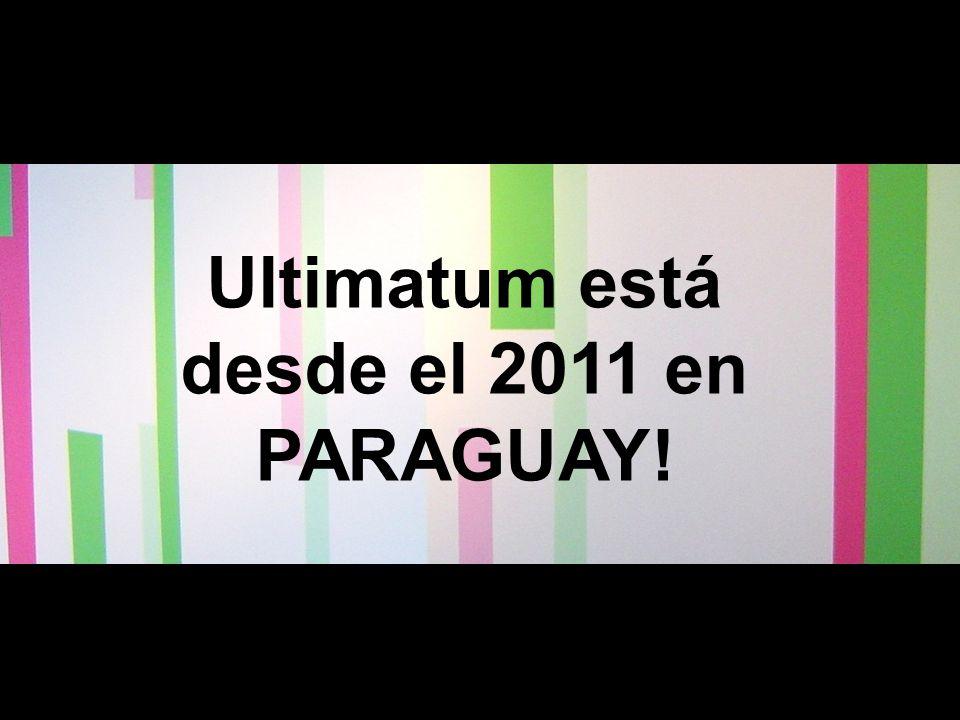 Nuestra Historia Ultimatum está desde el 2011 en PARAGUAY!
