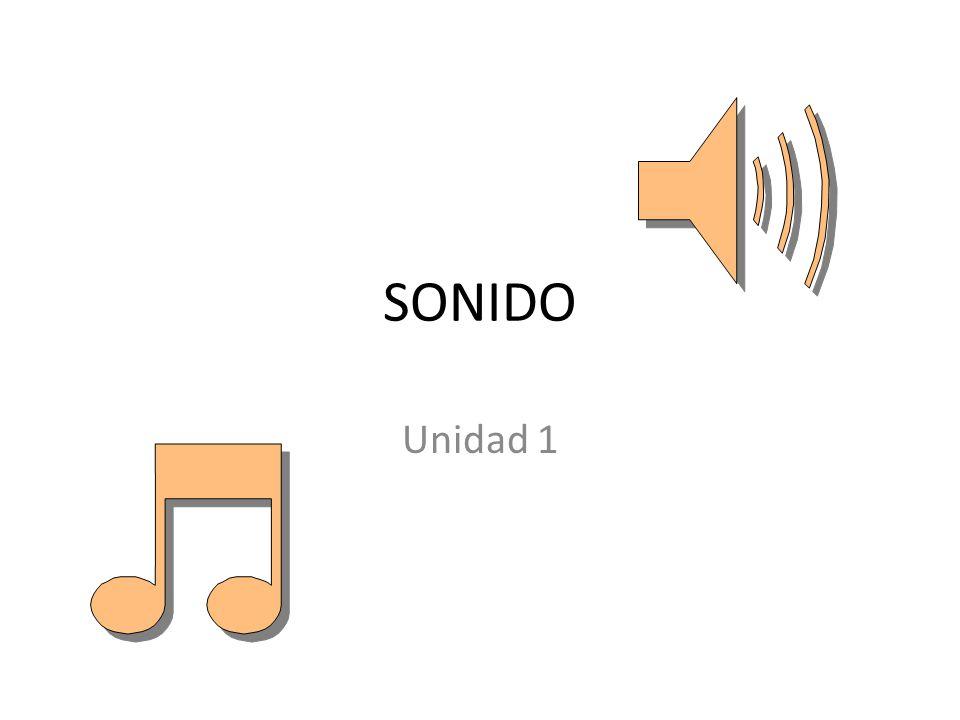 SONIDO Unidad 1