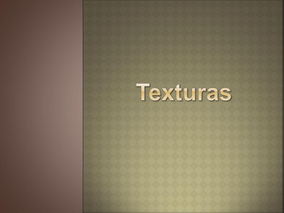 La textura es la cualidad externa que presentan las superficies de los elementos.