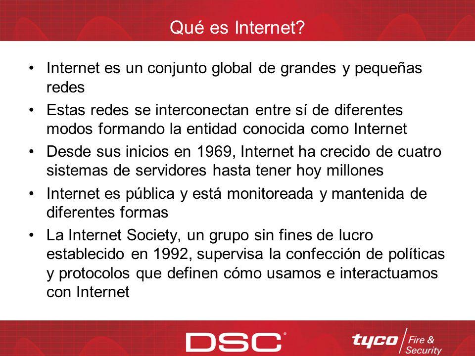 Agenda Internet: la nueva tendencia Internet: ¿Qué es? ¿Qué confiabilidad brindan las comunicaciones IP? Diferentes tecnologías de transmisión de dato