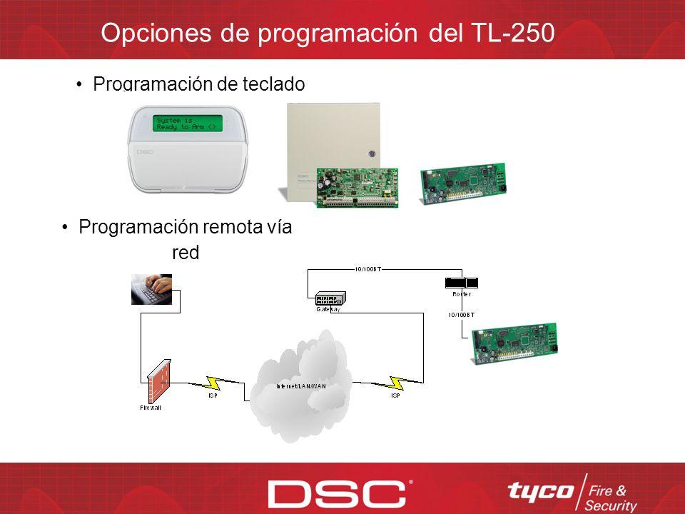 El T-Link TL250 en la red Estación central Ruteador (Router) MAXSYS TL250 Ruteador (Router) TL250 Ruteador (Router) VPN Internet WAN Intranet PowerSer