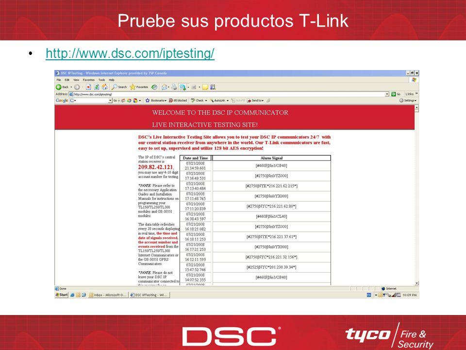 Programación Con simplemente programarle 5 datos la TL250 y TL300 están listas par transmitir IP Máscara Puerta de enlace Número de cuenta IP receptor