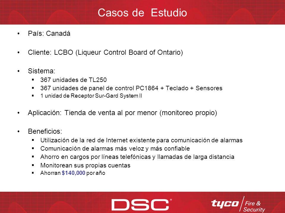 Listados de aprobaciones para TL-250 Estados Unidos UL1610, UL864, UL1635 – Comercial UL1023, UL985, UL365, UL609 – Residencial FCC Parte 15 CSFM Cana