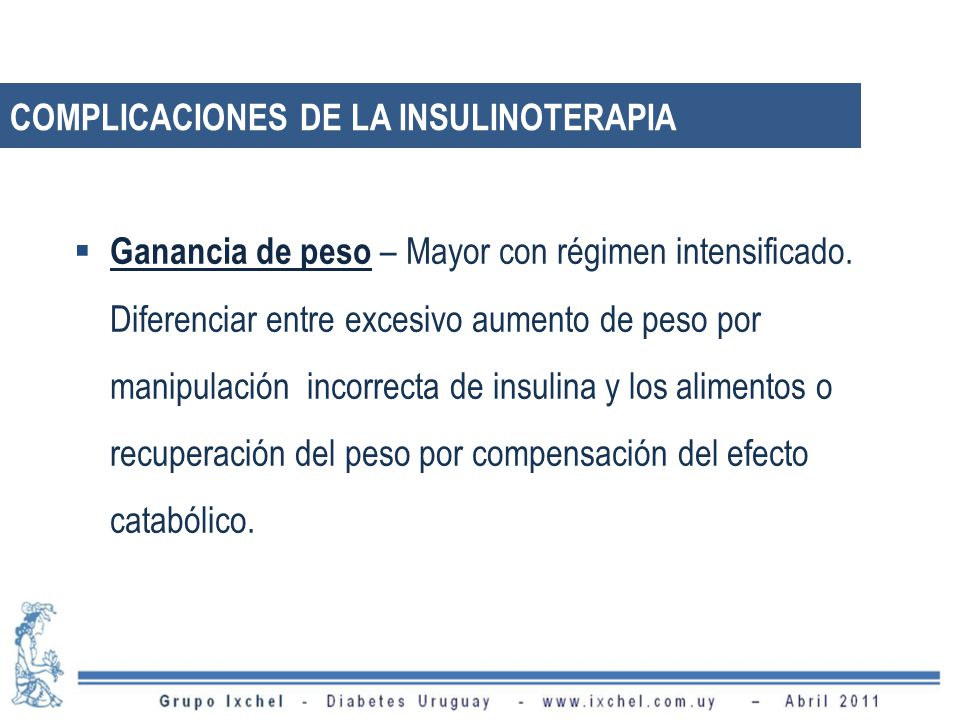 Ganancia de peso – Mayor con régimen intensificado.