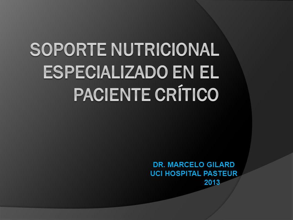 DR. MARCELO GILARD UCI HOSPITAL PASTEUR 2013