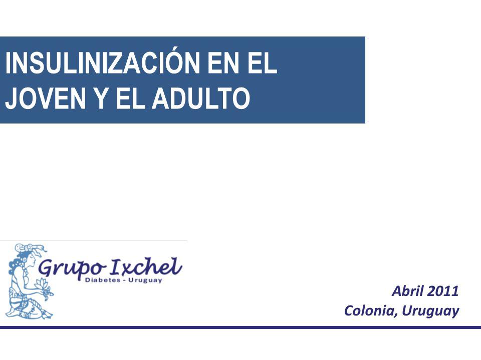 Abril 2011 Colonia, Uruguay INSULINIZACIÓN EN EL JOVEN Y EL ADULTO