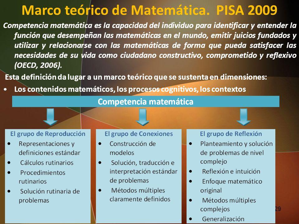 Competencia matemática es la capacidad del individuo para identificar y entender la función que desempeñan las matemáticas en el mundo, emitir juicios