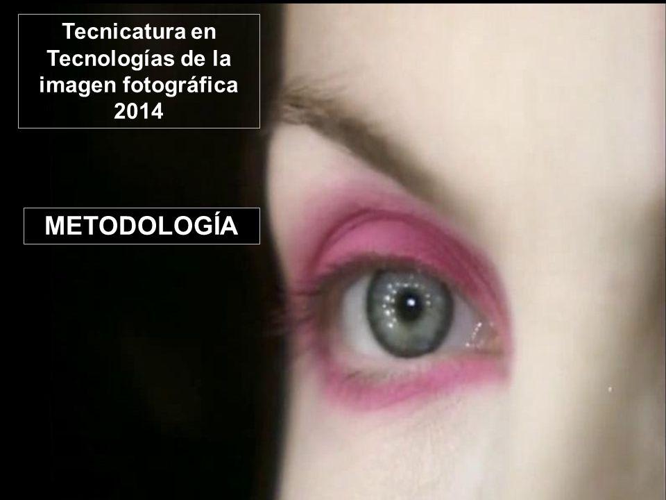 METODOLOGÍA Tecnicatura en Tecnologías de la imagen fotográfica 2014