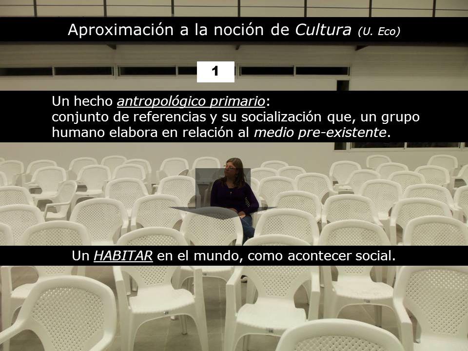 Aproximación a la noción de Cultura (U.