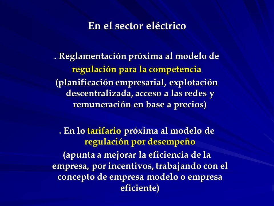 En el sector eléctrico.