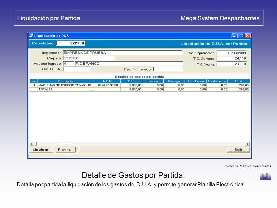 Observaciones de D.U.A. Mega System Despachantes Envíos de Observaciones de D.U.A.: La D.N.A. genera mensajes al despachante a medida que avanza el tr
