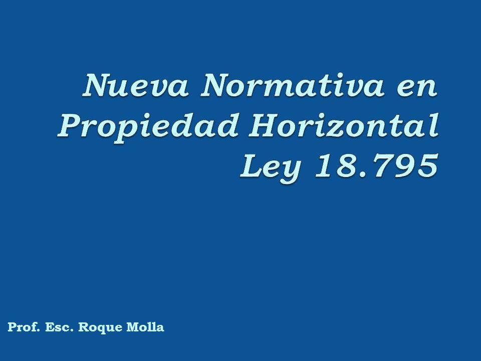 Propiedad Horizontal I.- Inmuebles con permiso de construcción o de incorporación concedidos por la Intendencia de acuerdo a la ley 10.751.
