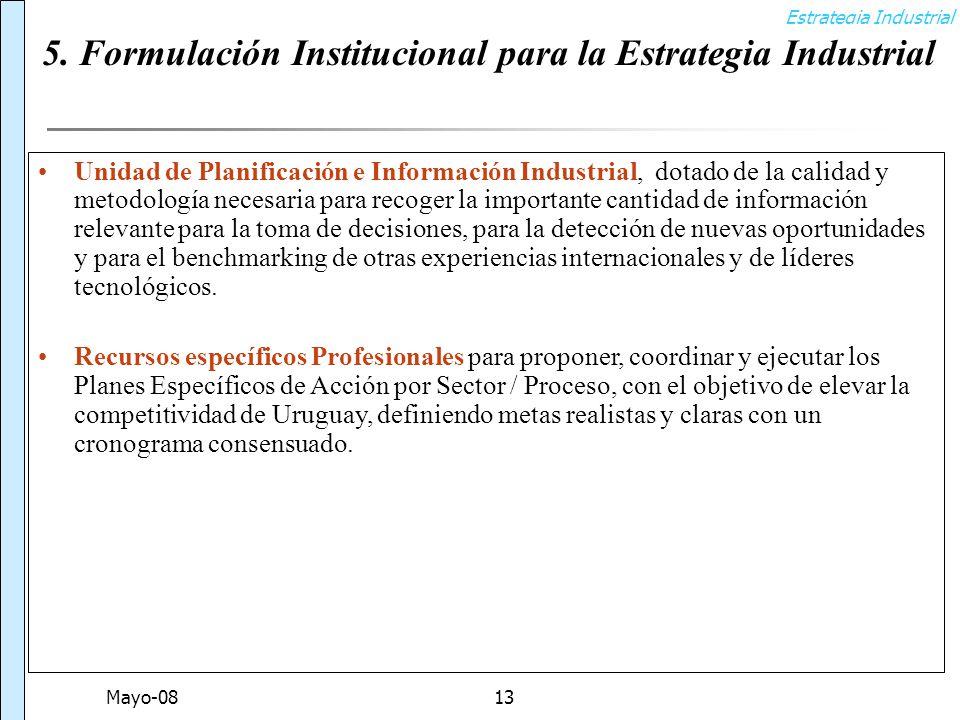 Estrategia Industrial Mayo-0813 5.