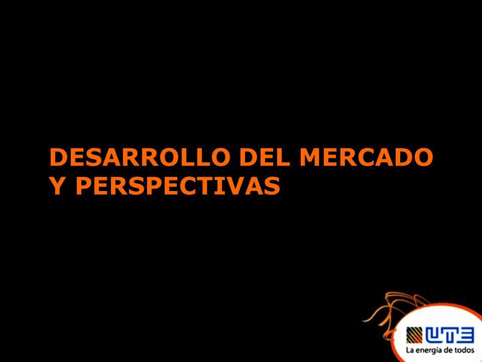 DESARROLLO DEL MERCADO Y PERSPECTIVAS