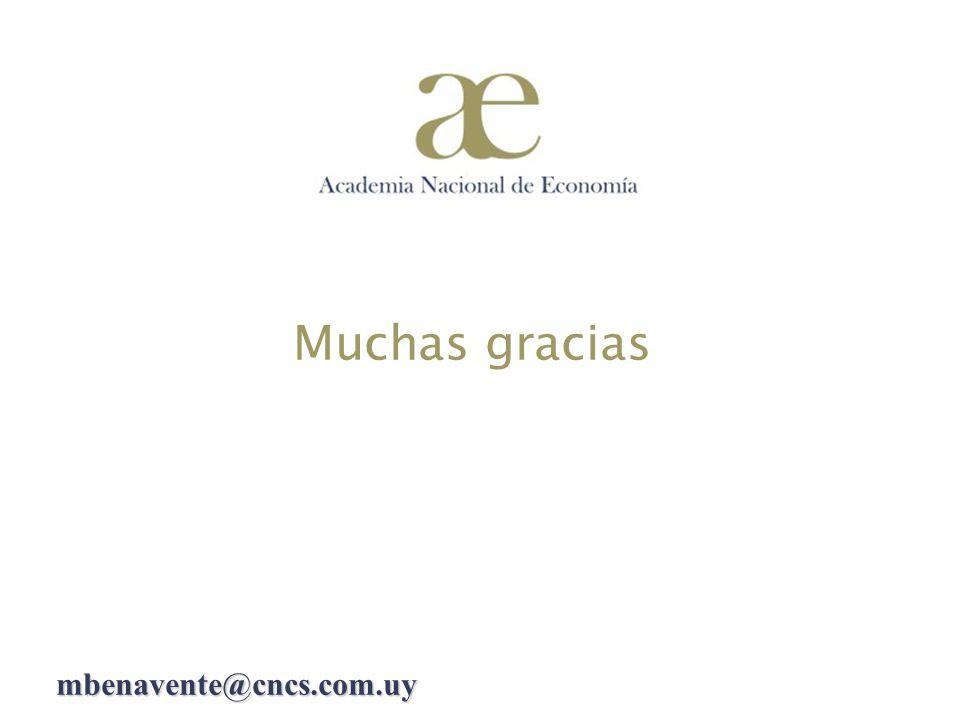 Muchas gracias mbenavente@cncs.com.uy