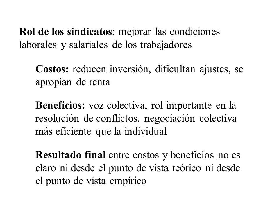 Cambio profundo en la política laboral en Uruguay a partir de marzo 2005: Fomento del tripartismo y la negociación: vuelta a los Consejos de Salarios y nuevos ámbitos institucionales Cambios en el marco jurídico: –derogación de decreto que habilitaba a MI a desalojar empresas ocupadas –ley de libertad sindical –decreto de prevención de conflictos y regulación de ocupaciones