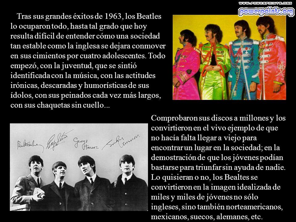 A las órdenes de Martin y ya con Ringo en la batería, grabaron el primer disco sencillo, que incluía Love Me Do, y que apareció en las tiendas en octu