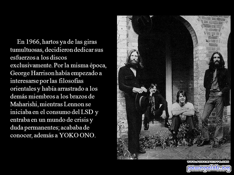 JOHN Y PAUL La mayoría de las composiciones del conjunto aparecieron firmadas por Lennon y McCartney, y no hay duda de que esta colaboración fue una d