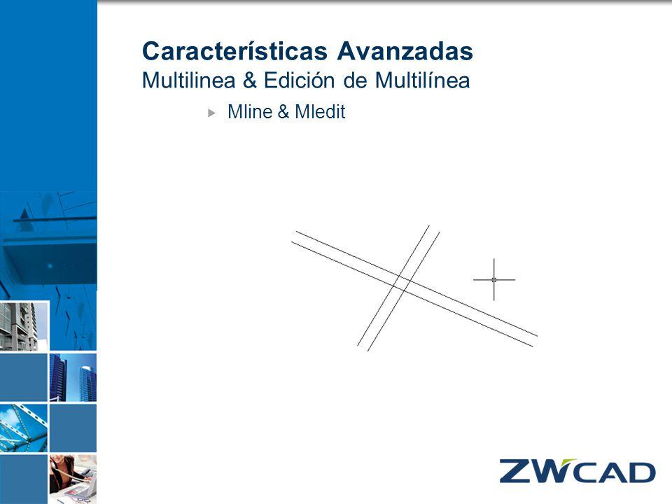 Características Avanzadas Multilinea & Edición de Multilínea Mline & Mledit