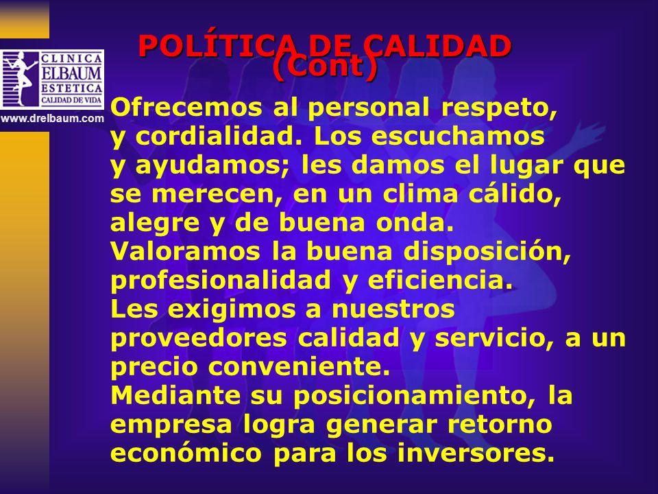 www.drelbaum.com ¿CÓMO SE DESARROLLÓ EL PROCESO?
