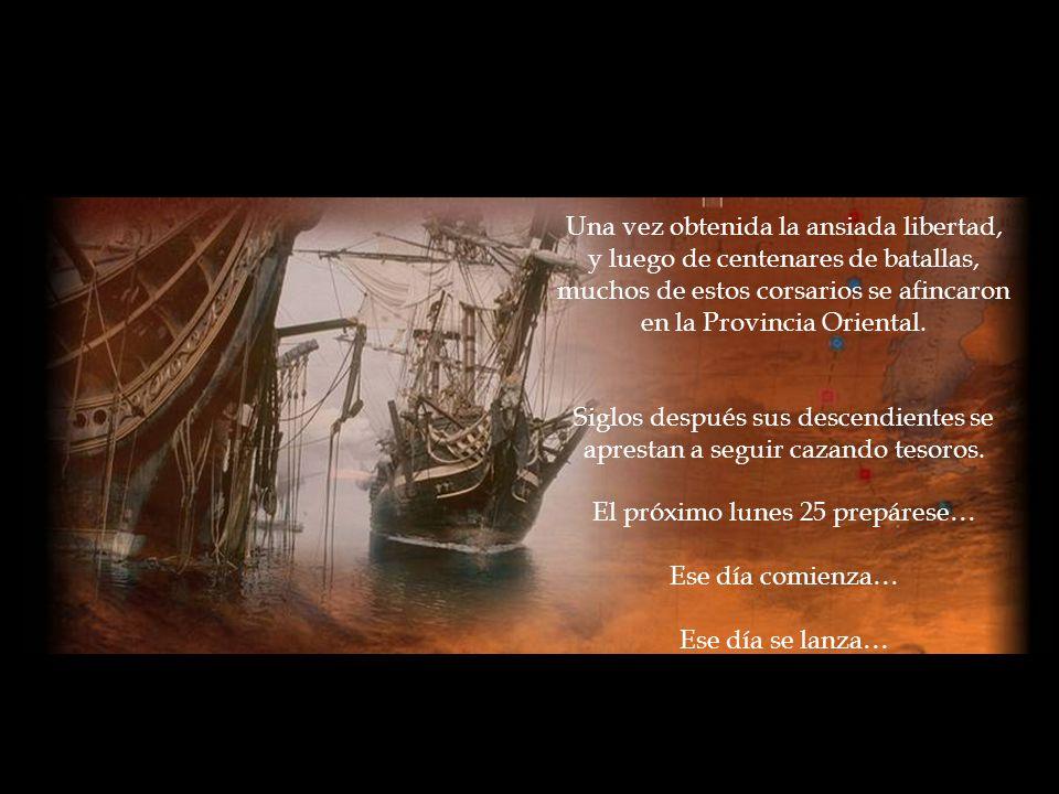 Una vez obtenida la ansiada libertad, y luego de centenares de batallas, muchos de estos corsarios se afincaron en la Provincia Oriental.