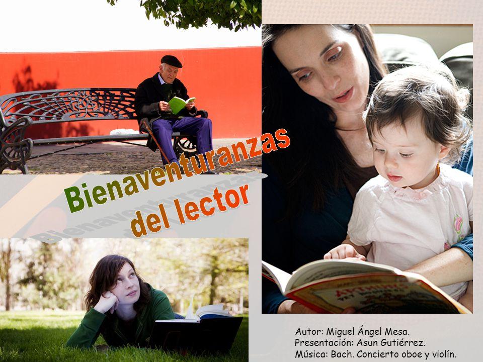 Autor: Miguel Ángel Mesa. Presentación: Asun Gutiérrez. Música: Bach. Concierto oboe y violín.