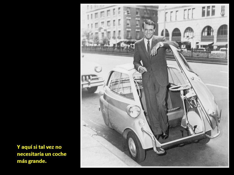 Y aquí si tal vez no necesitaría un coche más grande.