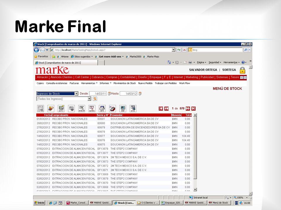 Marke Final