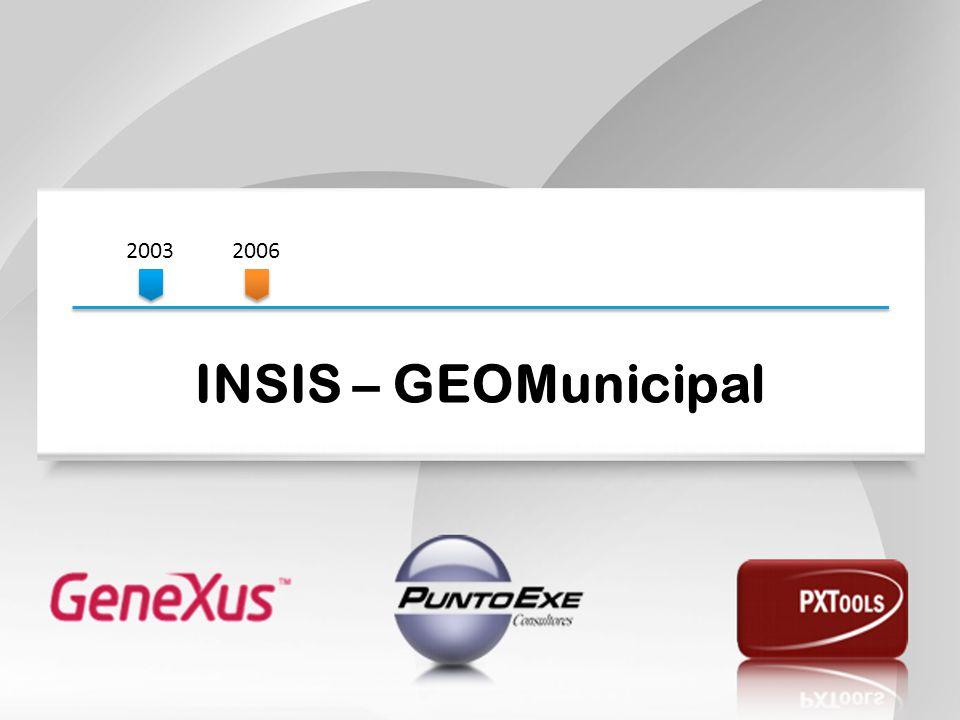 20032006 INSIS – GEOMunicipal