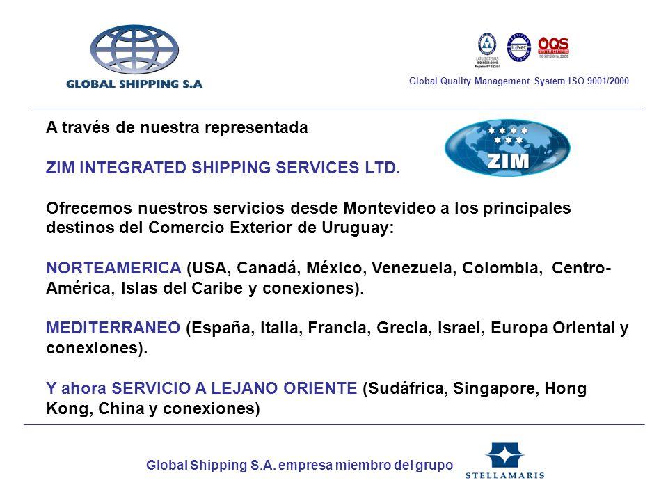 Muchas gracias por vuestra atención....Los esperamos en Global Shipping S.A.