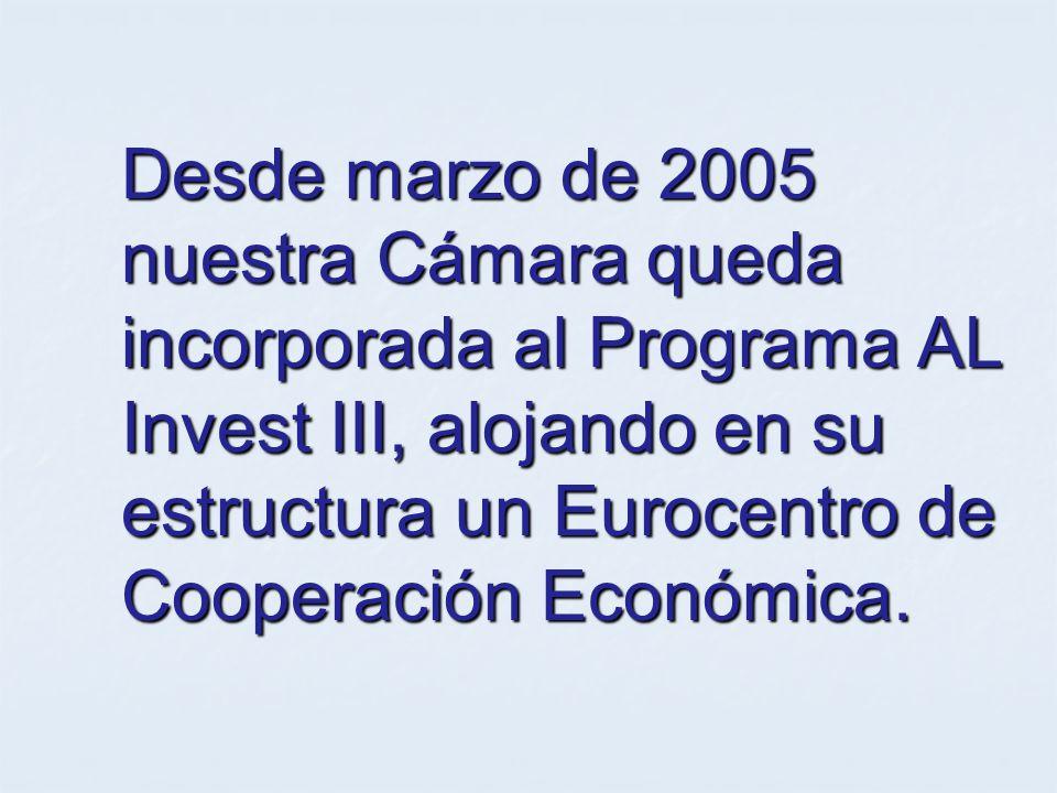 ¿Qué es AL INVEST III.Es una iniciativa de la Comisión Europea.