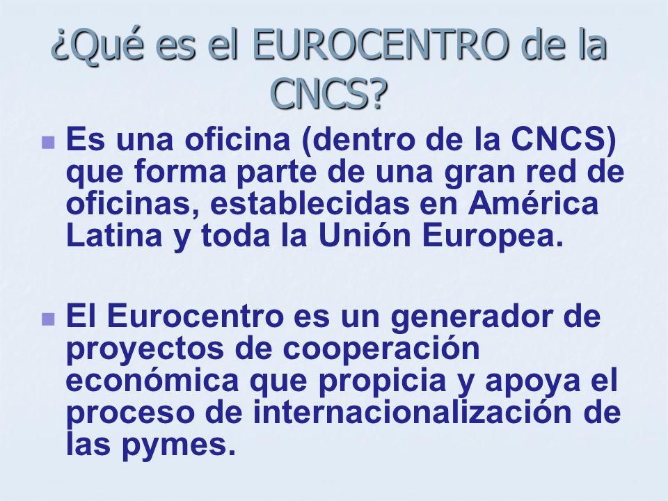 ¿Cómo se financia el Programa? Cofinanciado por la Comisión Europea y el Consorcio AL- INVEST III