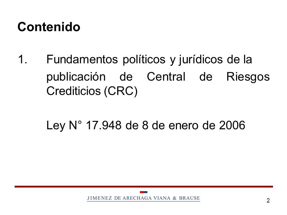 3 1.Fundamentos Políticos y Jurídicos 1.1Situación actual.