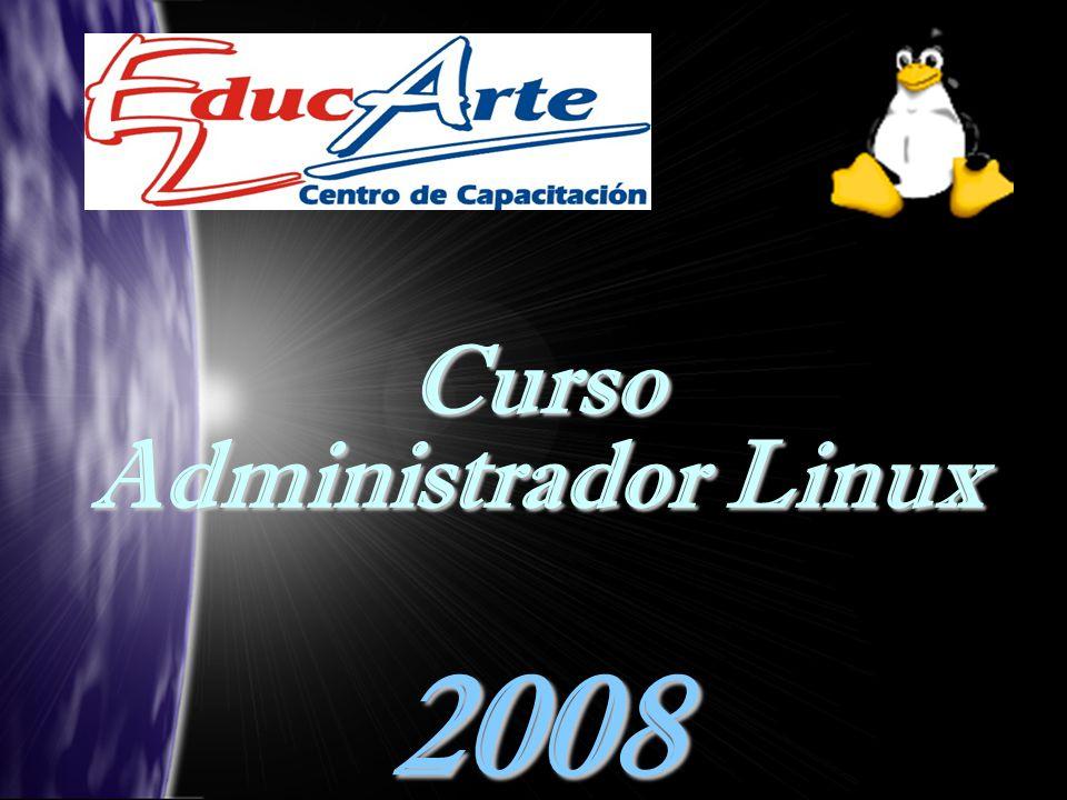 Curso Administrador Linux 2008