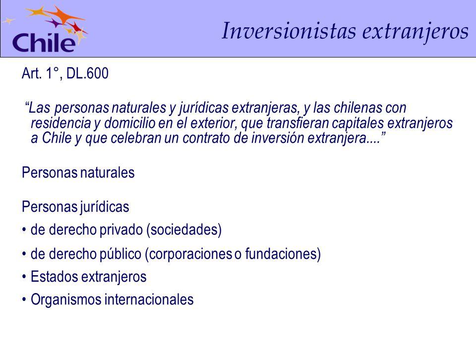 Inversionistas extranjeros Art.